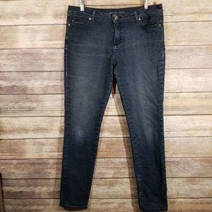 Michael Kors Skinny Straight Leg Jean